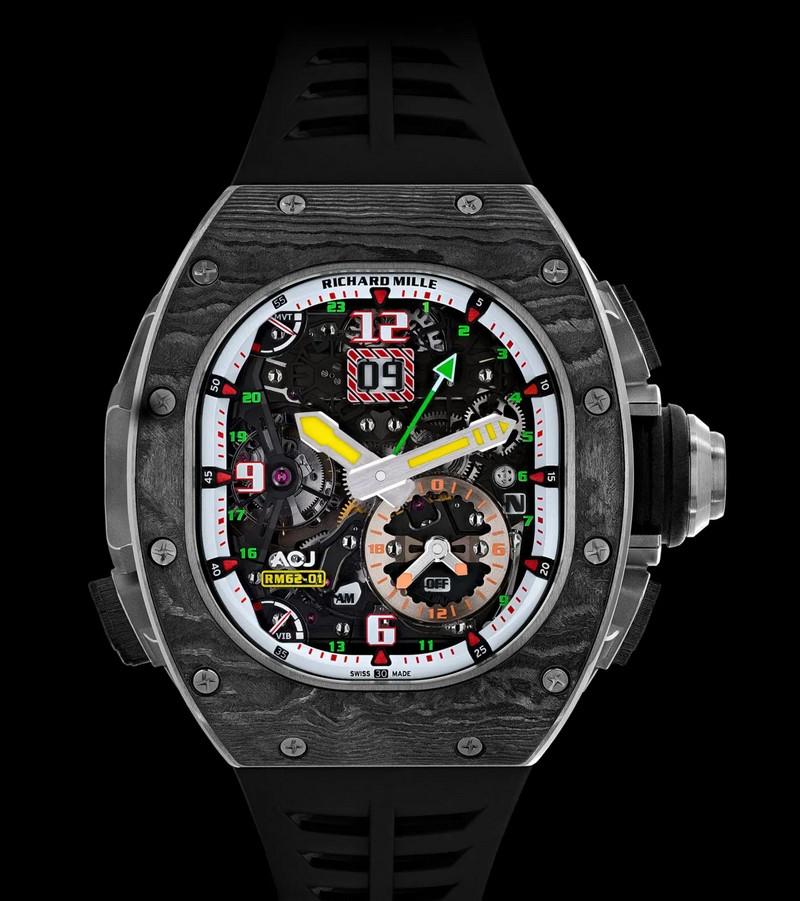 Richard Mille RM 62-01 Tourbillon Vibrating Alarm ACJ