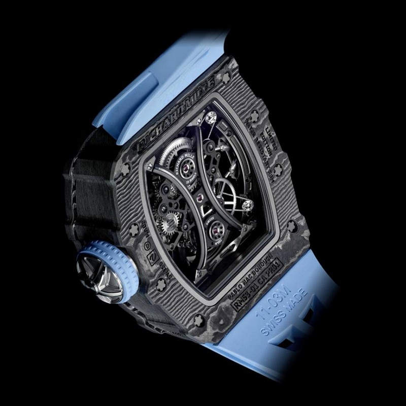 Richard Mille embraced the challenge of creating a new polo-proof timepiece, with the help of Pablo Mac Donough-2018