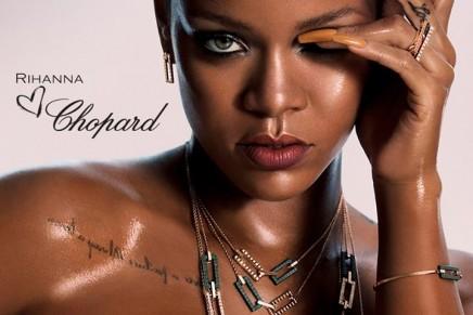 How stunning does Chopard look on Rihanna?