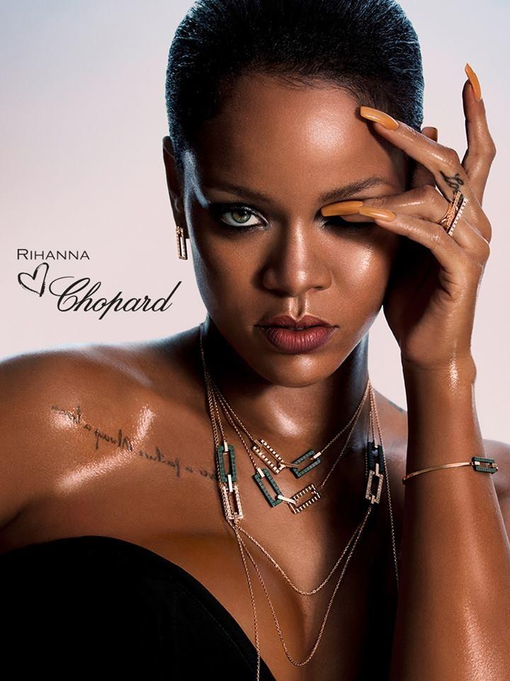 How Stunning Does Chopard Look On Rihanna 2LUXURY2COM