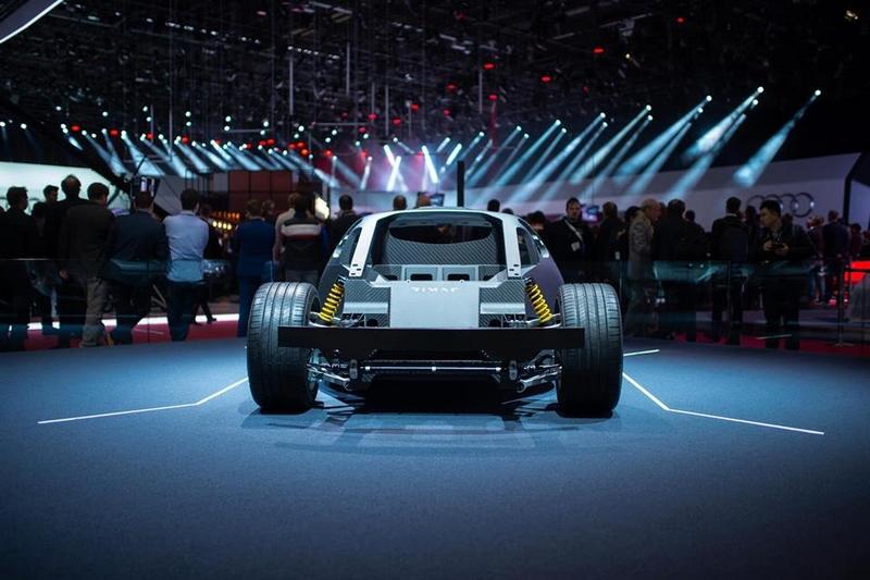 Rimac C-Two - Rimac Automobili stand at Geneva Motor Show 2019-01