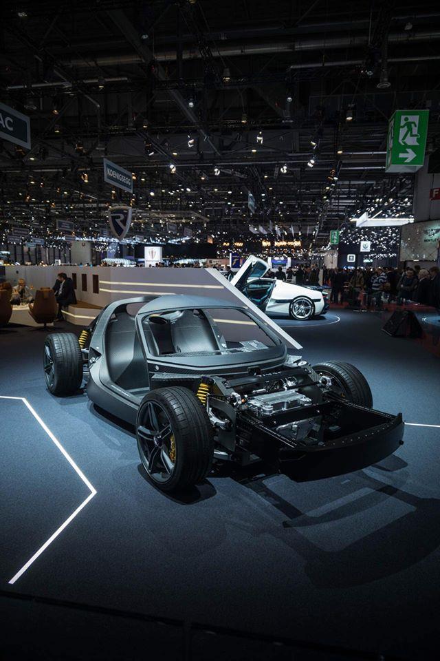 Rimac C-Two - Rimac Automobili stand at Geneva Motor Show 2019