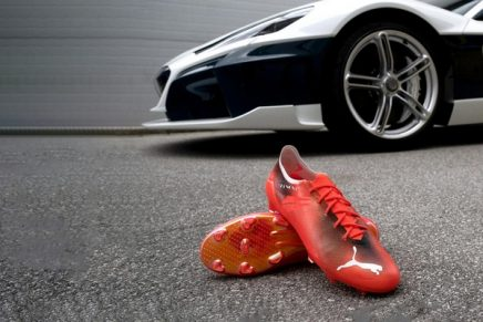 The world's fastest football boot weighs a gravity defying 90 grams
