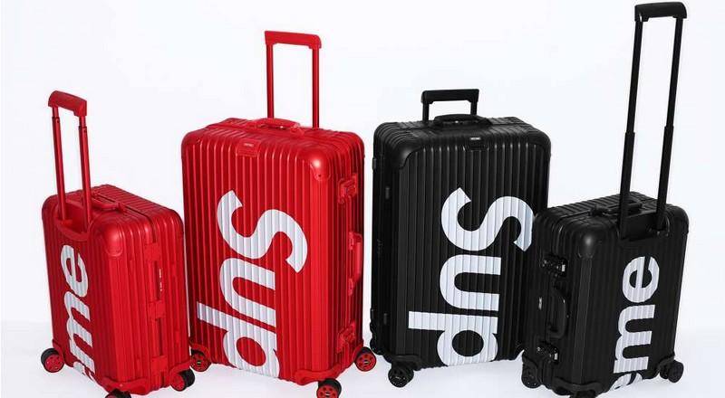 Rimowa x Supreme suitcase