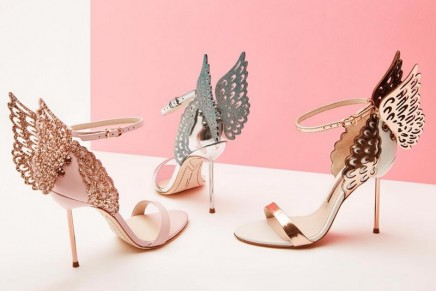 Sophia Webster's iconic shoes were transformed into a butterfly-themed Afternoon Tea