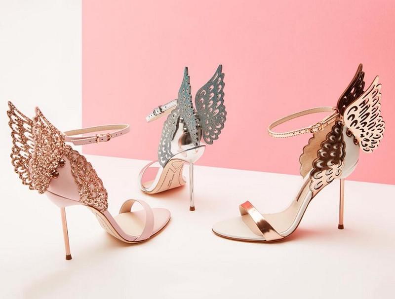 Rise above the rest with Sophia Webster Evangeline sandals