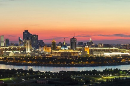 The Ritz-Carlton opened the doors of its first hotel in the capital of Kazakhstan