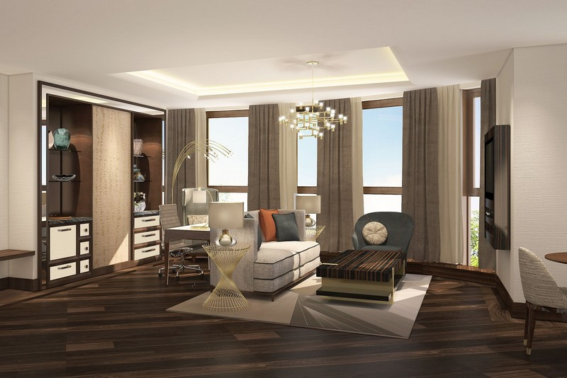 Ritz-Carlton opened the doors of its first hotel in the capital of Kazakhstan-Astana-