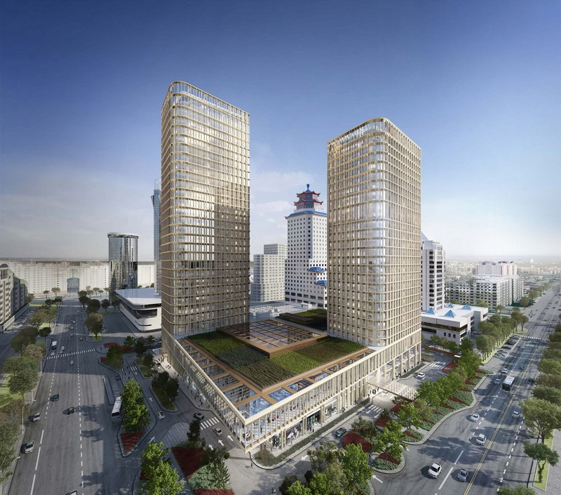 Ritz-Carlton opened the doors of its first hotel in the capital of Kazakhstan-Astana-ext