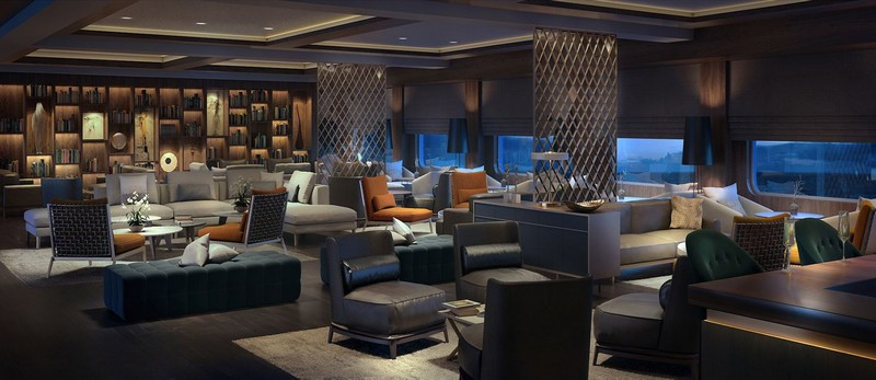 Ritz-Carlton's Custom-Built Luxury Yachts Setting Sail in 2019 - living room