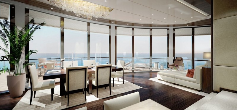 Ritz-Carlton's Custom-Built Luxury Yachts Setting Sail in 2019 - owners suite