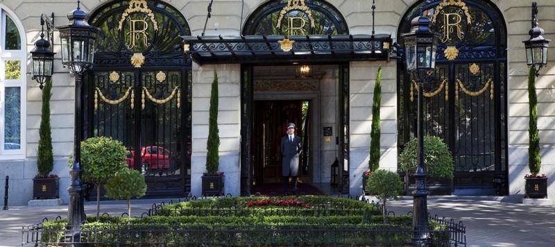 Ritz Madrid Entrance