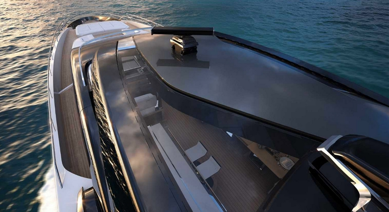 Riva 110' Dolcevita ext details