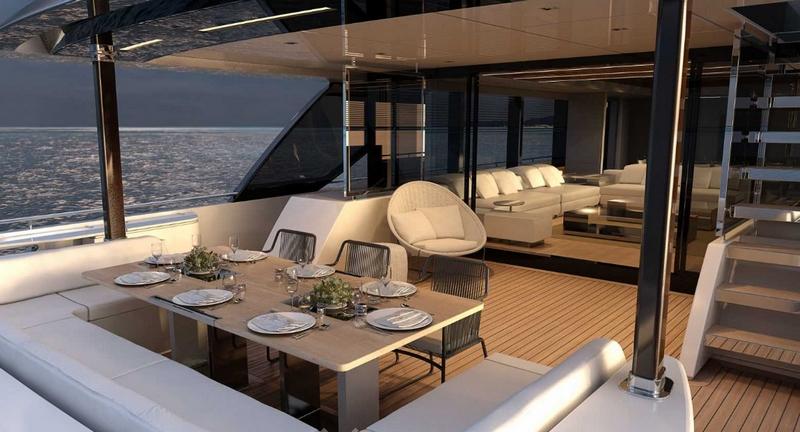 Riva 110' Dolcevita yacht deck