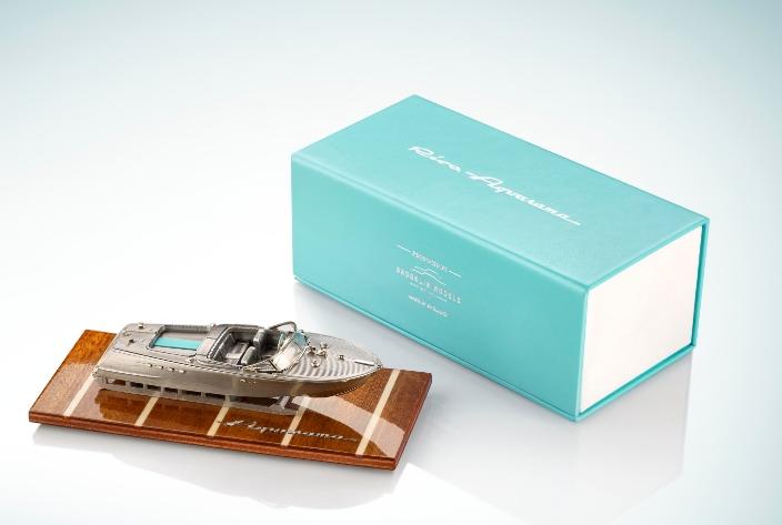 Riva Aquarama metal scale model