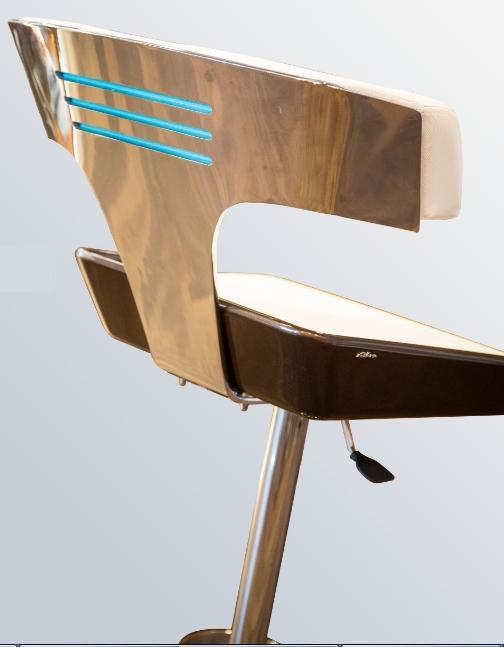 Riva Aquarama stool