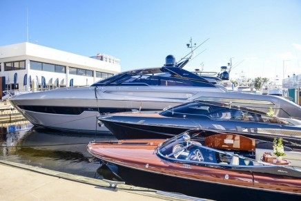 World preview of the new Riva 90': The world looks different from on board a Riva