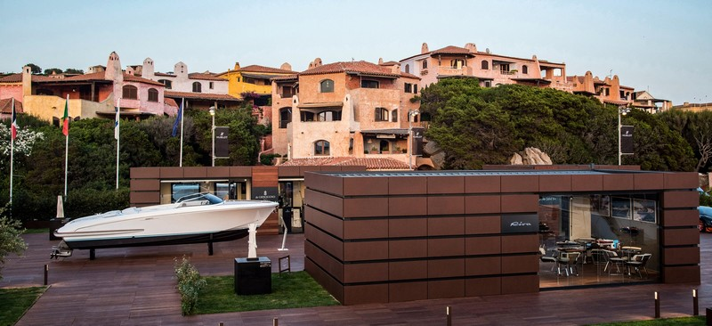 Riva in Sardinia with the Riva Brand Experience collection and two exhibitions-