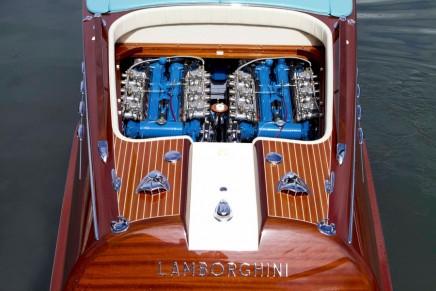 A new beating heart for Riva Aquarama Lamborghini