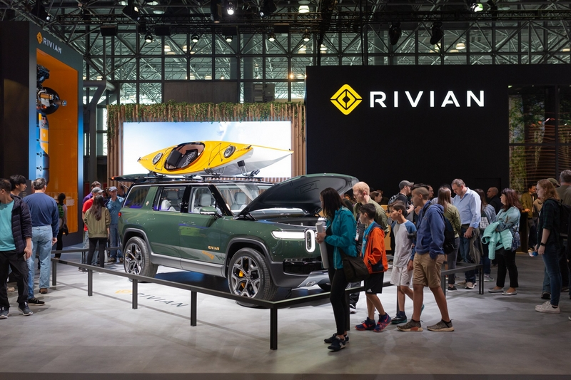 Rivian in New York - Rivian at New York Auto Show 2019 - booth