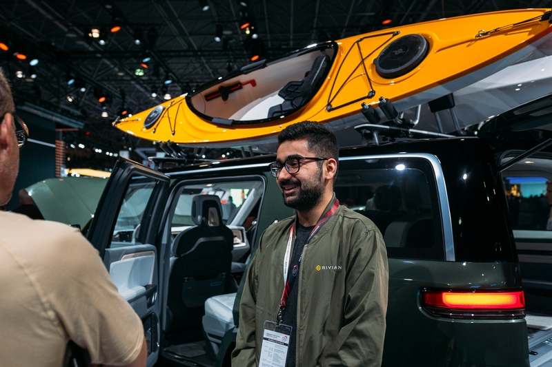 Rivian in New York - Rivian at New York Auto Show 2019