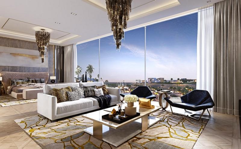 Roberto Cavalli designs for the first time in Saudi Arabia, in the Mirabilia Villas in Riyadh-