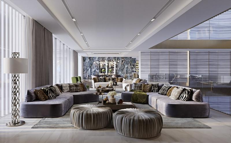 Roberto Cavalli designs for the first time in Saudi Arabia, in the Mirabilia Villas in Riyadh