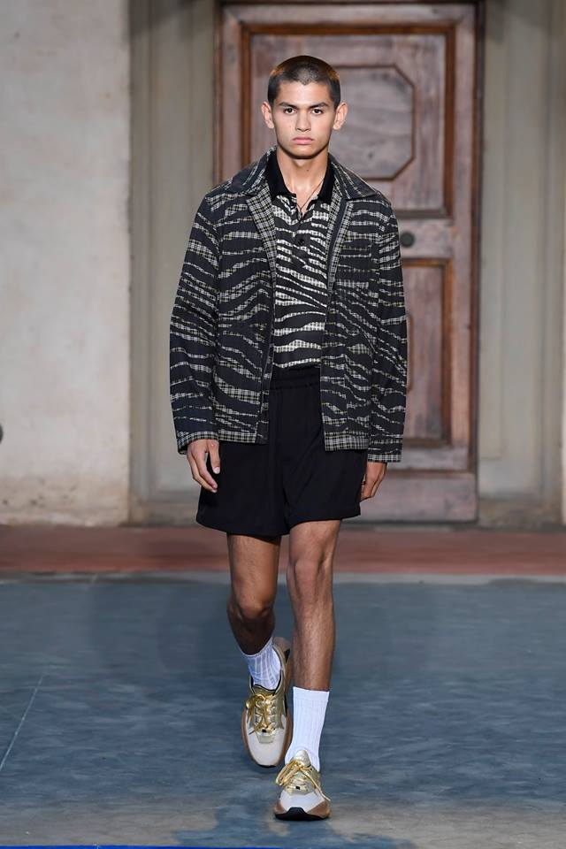 Roberto Cavalli presents first men's collection by Paul Surridge-