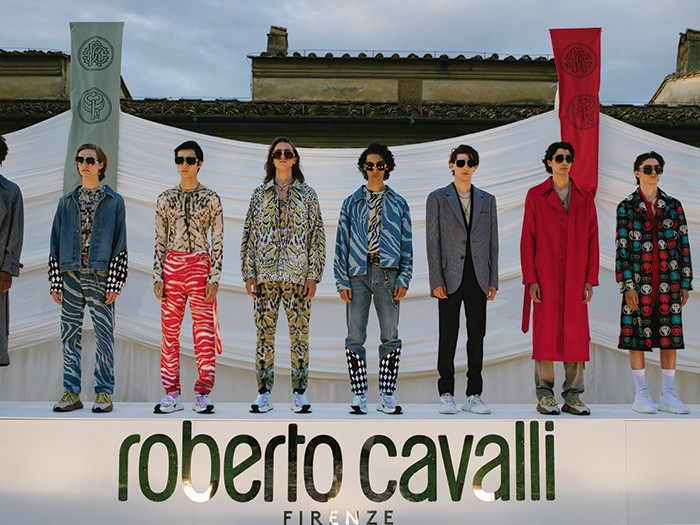 Roberto Cavalli presents first men's collection by Paul Surridge