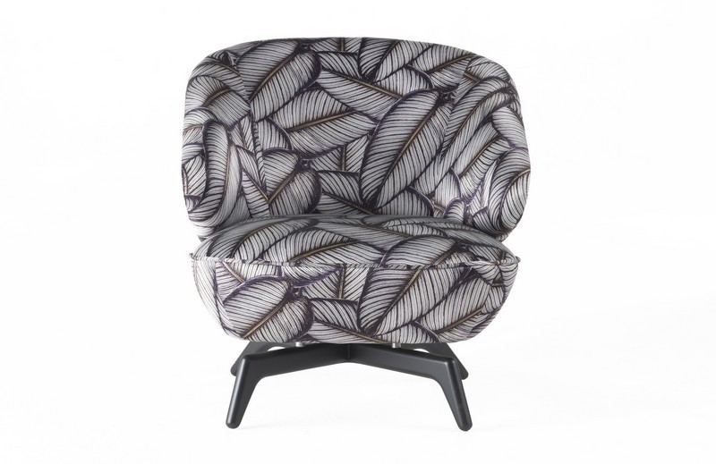 RobertoCavalliHome collection for 2018SalonedelMobile-Key West Swivel Armchair