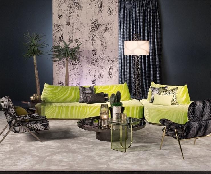 RobertoCavalliHome collection for 2018SalonedelMobile-furniture-wallpaper-