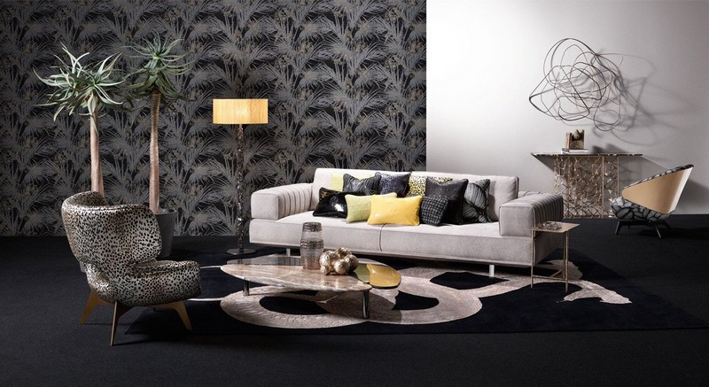 RobertoCavalliHome collection for 2018SalonedelMobile-furniture-wallpaper-tableware