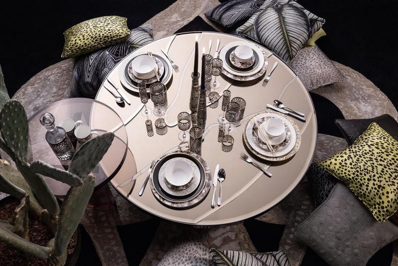RobertoCavalliHome collection for 2018SalonedelMobile - tableware