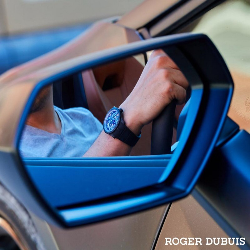 Roger Dubuis 2017 Excalibur Spider Pirelli timepieces are performed with winning motorsport rubber
