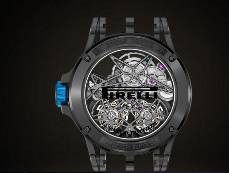 Roger Dubuis 2017 Excalibur Spider Pirelli timepieces