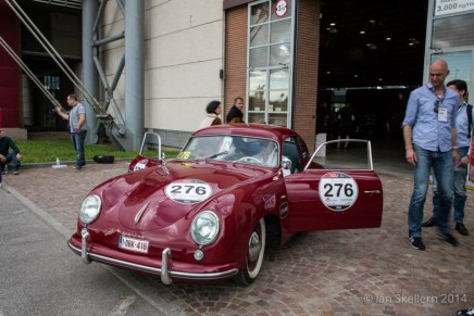 Roland Iten commemorates the Mille Miglia race with special belt buckle