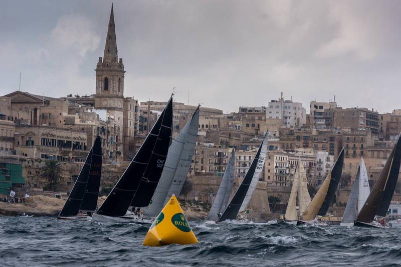 Rolex Middle Sea Race -sailing
