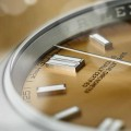 Rolex Oyster Perpetual 36 in 904L steel with a white grape dial