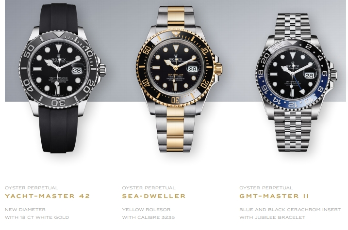 Rolex new 2019 watches - Baselworld 2019 - Rolex Yacht-Master 42, Rolex Sea-Dweller and Rolex GMT Master II