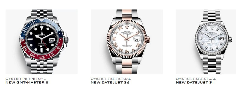 Rolex watches at Baselworld 2018