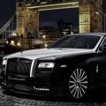 Rolls Royce Ghost San Mortiz 2015 model