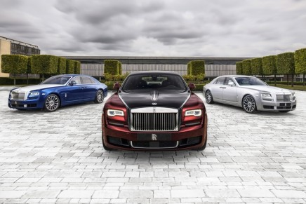 Rolls-Royce Ghost Zenith Collection – a chance for collectors to obtain an item that is truly at its apex