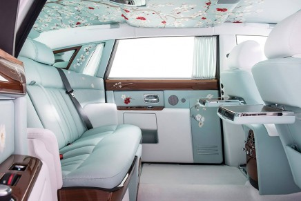 Serenity Phantom is the most exquisite Rolls-Royce to date, and there is only one in the world.