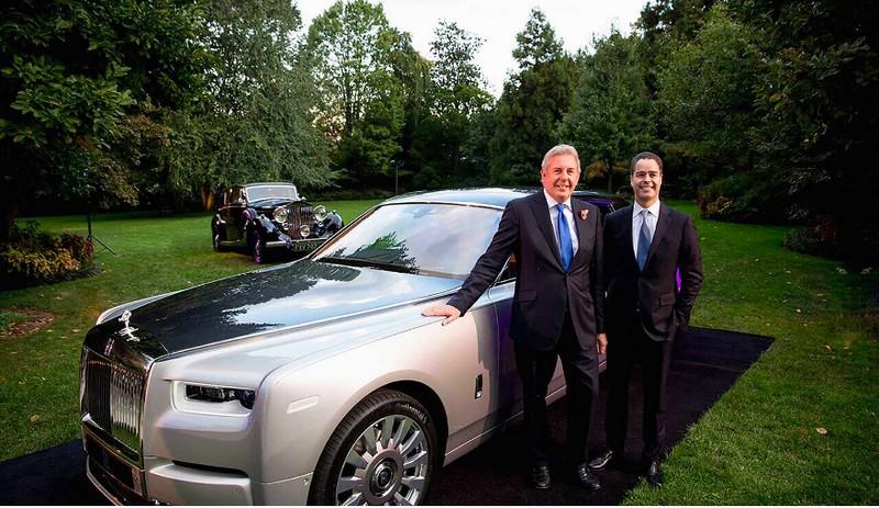 Rolls-Royce Phantom US debut