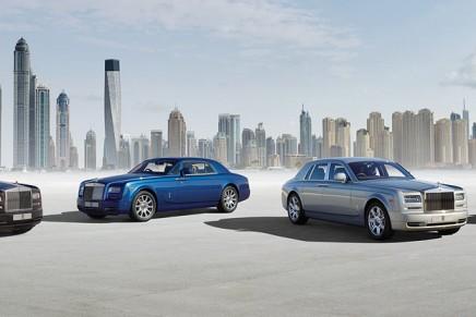 The world's largest fleet of Rolls-Royce Phantoms