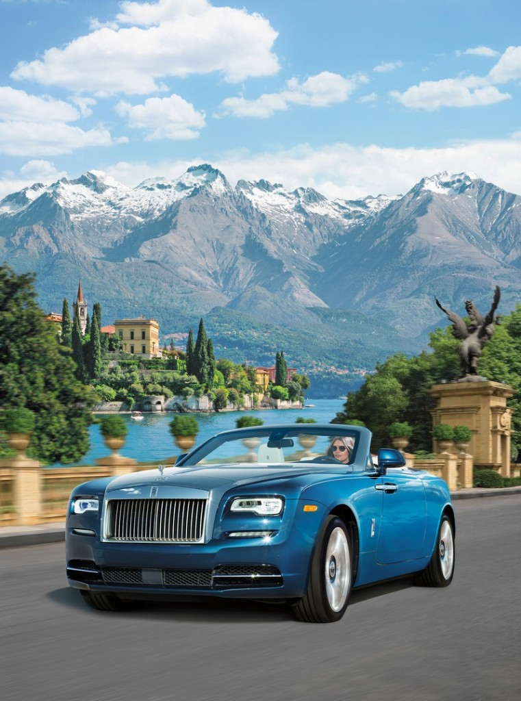 Rolls-Royce inspired by Lake Como