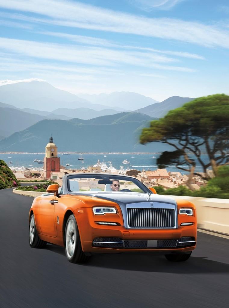 Rolls-Royce inspired by Saint-Tropez