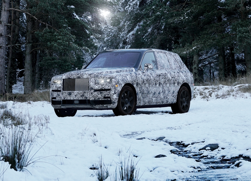 Rolls-Royce's new High Bodied Vehicle will be called Cullinan