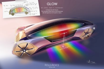 Rolls-Royce Young Designer Competition 2020 revealed winners