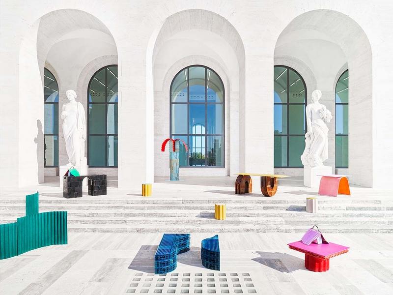 Roman Molds - Kueng Caputo, 2019 Fendi-Design Miami
